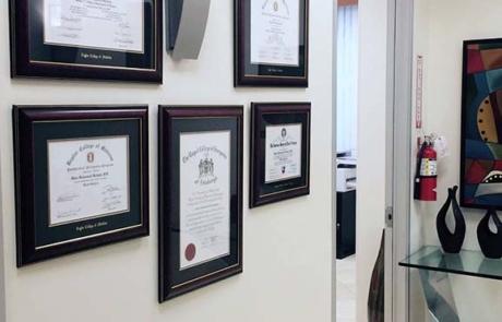 Dr-Kattash-Rancho-Cucamonga-Plastic-Surgery-Office-Certificates